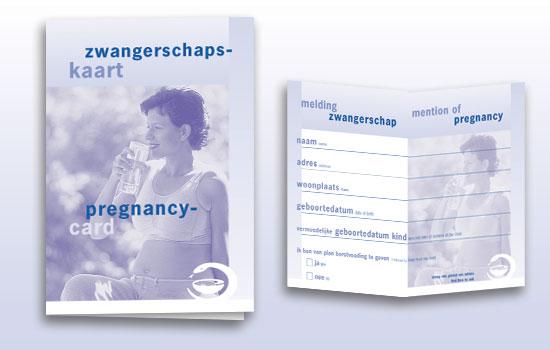 zwangerschapsmeldingkaart